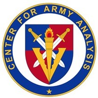 Center for Army Analysis Logo