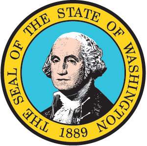 The Seal of the State of Washington Logo