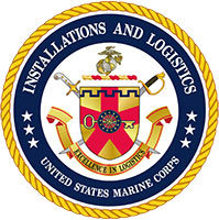US Marine Corps Installations and Logistics Logo