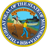 The Great Seal of the State of Minnesota Logo
