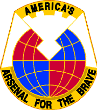 US Army Material Command Logo